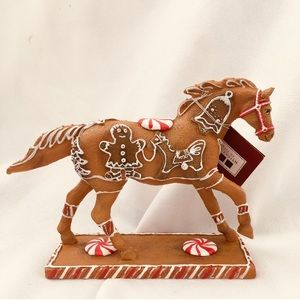 The Trail of Painted Pony Gingerbread Horse Figure